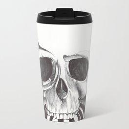 El mordisco de la calavera Travel Mug