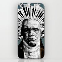 beethoven iPhone & iPod Skins featuring Beethoven by Ed Pires