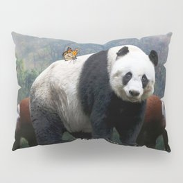 Aegis Panda Pillow Sham