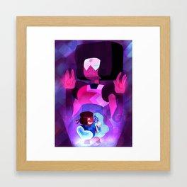 Made of lo-o-ove Framed Art Print