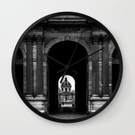 Louvre Arch Wall Clock