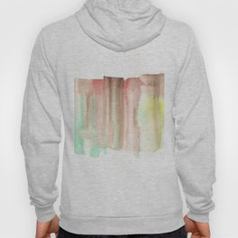 [161228] 24. Abstract Watercolour Color Study|Watercolor Brush Stroke Hoody