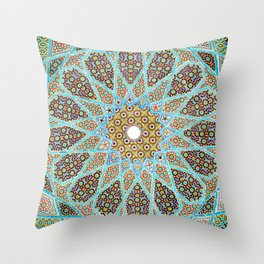 Islamic Mosaic Tile 1 Throw Pillow