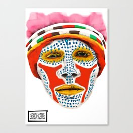 Goroka Dancer Canvas Print
