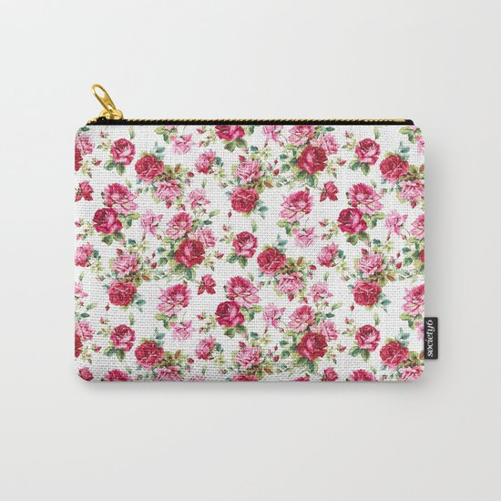 S/S 17 Spring Summer Trend Pattern Carry-All Pouch