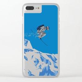 Ski Jump Clear iPhone Case