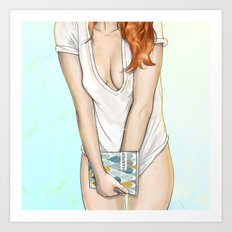 My Morning with Charley Art Print
