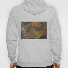 Guitar Family Singing Abstract Hoody