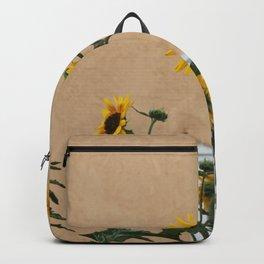 Santa Fe Sunflowers Backpack