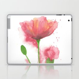 Pink Poppy Laptop & iPad Skin