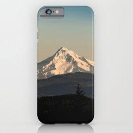 PNW Mount Hood Adventure iPhone Case