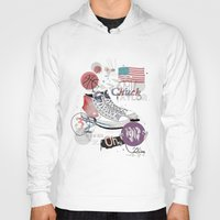 chuck Hoodies featuring The Chuck Taylor by Frances Beale