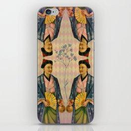 Antique Asian Trade Card iPhone Skin