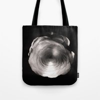 ass Tote Bags featuring Mapplethorpe Ass Flower by Gwyneth
