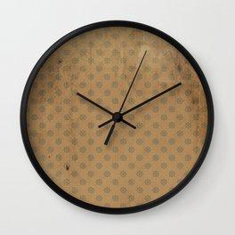Vintage Nautical Pattern Wall Clock