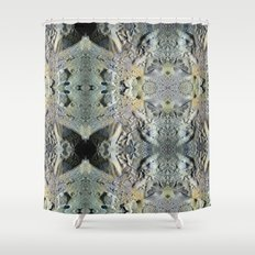 Two lob sect. Shower Curtain