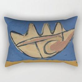 Le Corbusier - La Main Ouverte Rectangular Pillow
