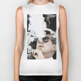 Cigar Smoker Cigar Lover JFK Gifts Biker Tank