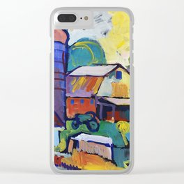 Farm on Chestnut Hill Road Clear iPhone Case