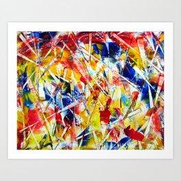 """Ordered Chaos"" Art Print"