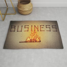 fired business Rug