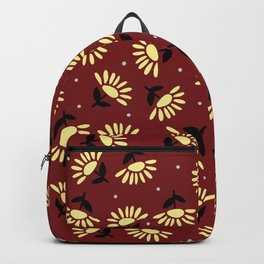 Ethnic flowers Backpack