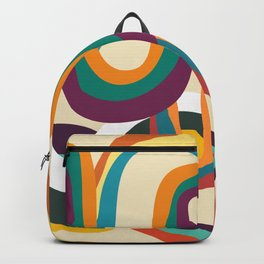 Groovy rainbow of doom Backpack