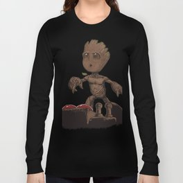 Is This The Death Button? Long Sleeve T-shirt