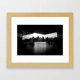 The Blind Cosmos Grinds Framed Art Print