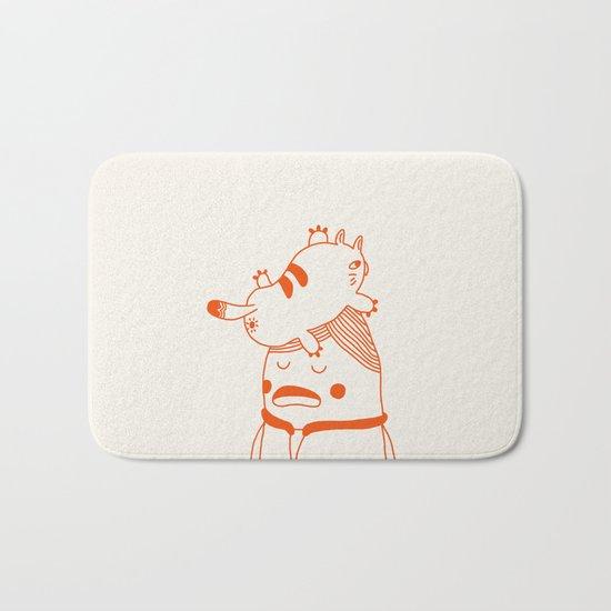 Wild Cat Bath Mat