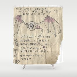 Book of Nightmares, The Observer Shower Curtain