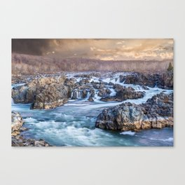 Landscapes by Jordan Berg Canvas Print