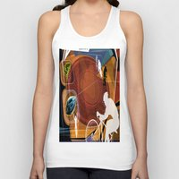 cycling Tank Tops featuring Cycling by Robin Curtiss