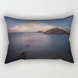 Mumbles lighthouse Swansea Rectangular Pillow
