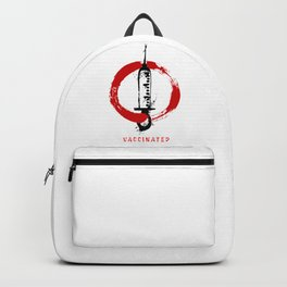 Vaccinated (grunge) Backpack