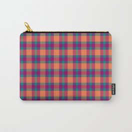 Nicki's Plaid Carry-All Pouch
