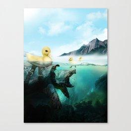 Aww Snap! Canvas Print