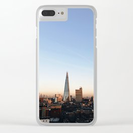 Shard of Sunset Clear iPhone Case