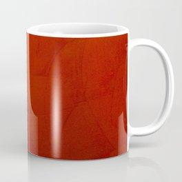 Italian Style Red Stucco Coffee Mug
