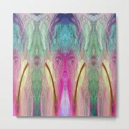 520 - Abstract colour design Metal Print
