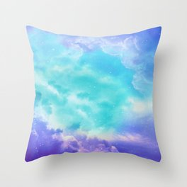 Infinite Sky Throw Pillow