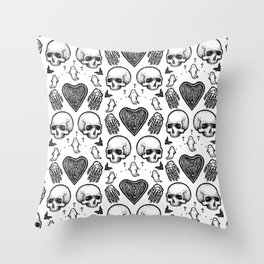 Ghostly Dreams II Throw Pillow