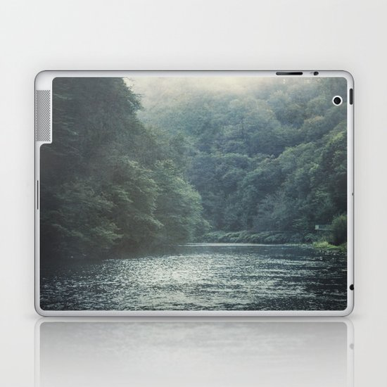 valley and river Laptop & iPad Skin