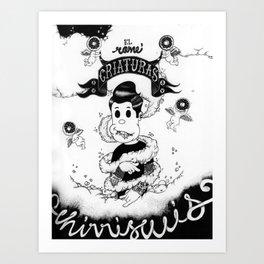 El Come ñiños Art Print