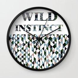 wild instinct pingu Wall Clock