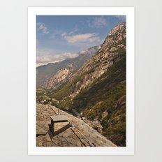 Aosta valley Art Print