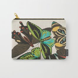 Vintage Butterfly Illustration EA Seguy Papillon Carry-All Pouch