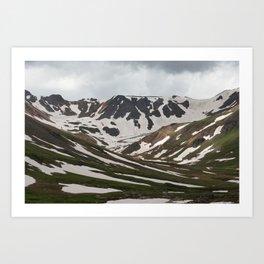 California Pass Art Print
