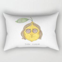 John Lemon Rectangular Pillow