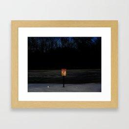 The Ice Be Thin Framed Art Print